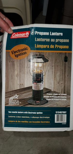 Camping Equipment Propane Lamp for Sale in Los Angeles, CA