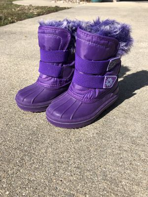 Kids snow boots for Sale in Marissa, IL