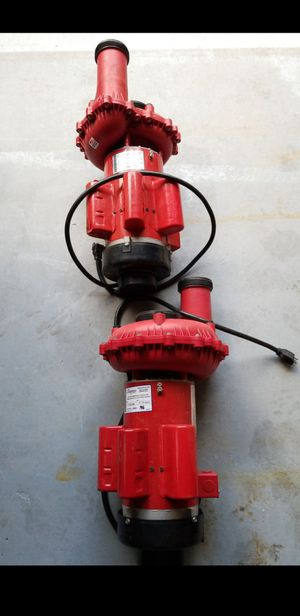 2 7hp water pumps from my hot tub for Sale in Norfolk, MA