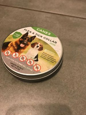 Flea and Tick Collar For Dogs ⭐️⭐️⭐️⭐️⭐️Small Under sale -80% end of season for Sale in Riverside, CA