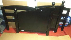 BLACK BED FRAME for Sale in Temple, TX