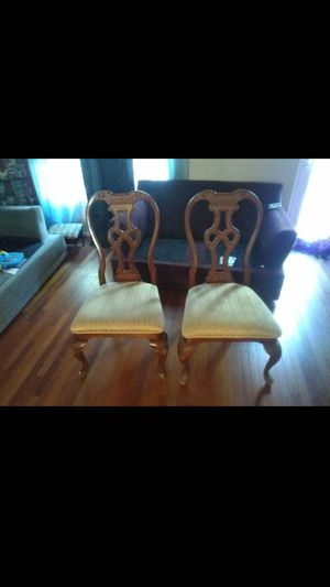 2 wooden Chairs for Sale in West Springfield, VA