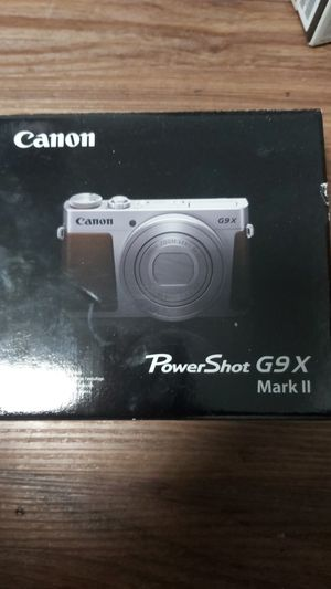 Canon powershot g9x mark 2 for Sale in Fremont, CA