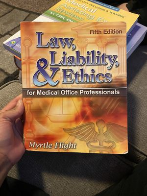Law, liability and ethics for Sale in Littleton, CO