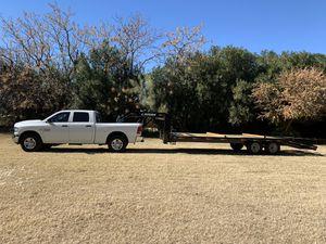 Flatbed gooseneck Trailer for Sale in Laveen Village, AZ