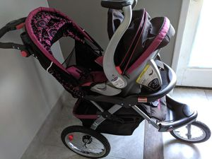 Baby Trand car seat and stroller+ rocker for Sale in Nashville, TN