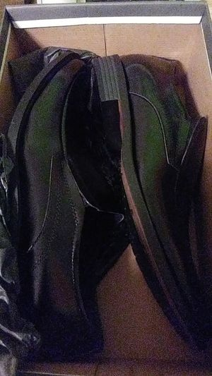 Brand new never worn stacy adams black dress shoes for men for Sale in Stickney, IL