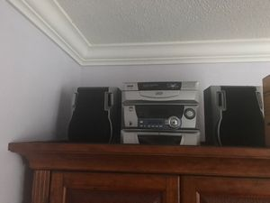 Stereo System with speakers for Sale in Lauderhill, FL