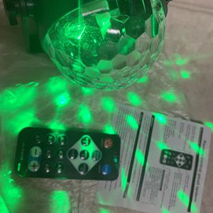 Party Lights,Disco Lights ‼️ sync with music‼️Sound Activated‼️Multi Colors Rotating Magic LED for Sale in El Cajon, CA