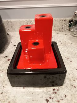 Red Tabletop Fountain for Sale in Gunpowder,  MD
