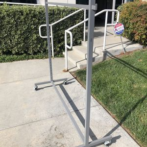 Metal clothes rack I have six $25 each for Sale in Carlsbad, CA