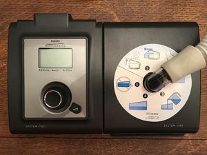 CPAP MACHINE - used once! Philips Respironics System One REMstar Auto with A-Flex (560P) PLUS Heated Humidifier (DS6HFLG) for Sale in Nashville, TN