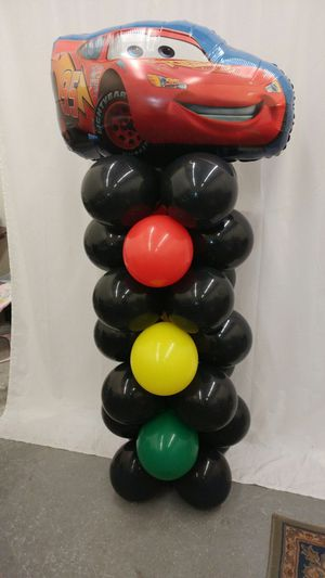 Cars movie Red light Balloon display. Professionally made, will last 5 days. for Sale in Anchorage, AK