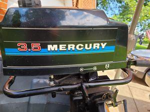Mercury 3.5 Outboard Motor for Sale in Alexandria, VA
