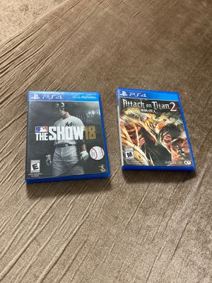 Attack on titan 2 and the show 18 for Sale in Dublin, OH