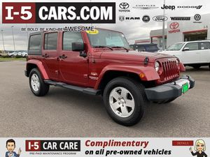 2012 Jeep Wrangler Unlimited for Sale in Chehalis, WA