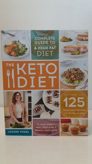 The Keto Diet Cookbook for Sale in Melrose Park, IL