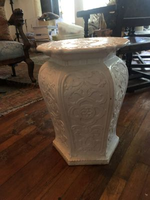 Pair of Italian Antique Garden Seats for Sale in West Palm Beach, FL