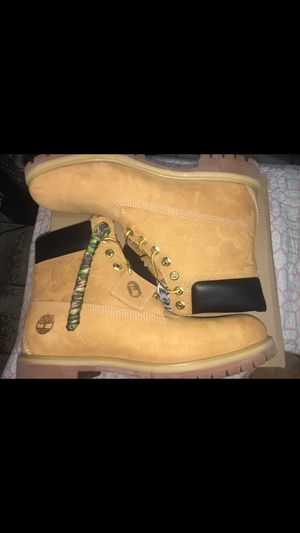 Bape x Timberlands for Sale in Boston, MA