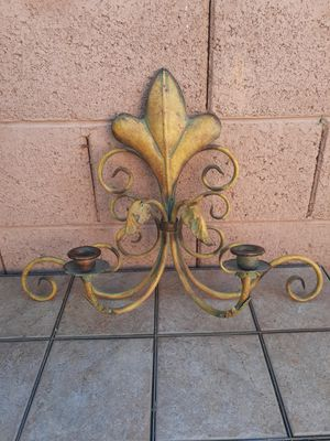 BEAUTIFUL METAL WALL DECOR TUSCAN STYLE for Sale in Phoenix, AZ