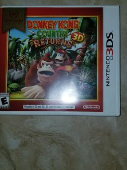 3ds Donkey Kong Country Returns (CASE ONLY) for Sale in Mercedes,  TX
