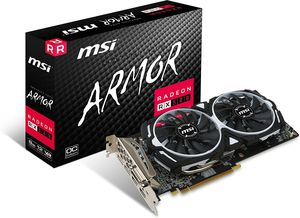 MSI Radeon RX 580 ARMOR 8G OC Graphics Card for Sale in Amarillo, TX