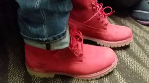 "Timberland 6"" Classic Boot Red for Sale in Bath, PA"