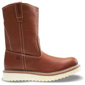 Wolverine Men's Work Wedge Wellington Work Boots - Soft Toe - Tan Size 7(M) for Sale in Phoenix, AZ