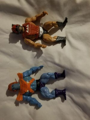 Vintage he-man MOTU action figures for Sale in Seattle, WA
