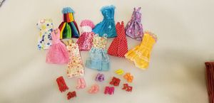 Doll clothes and shoes that will fit Barbie for Sale in Mount Juliet, TN