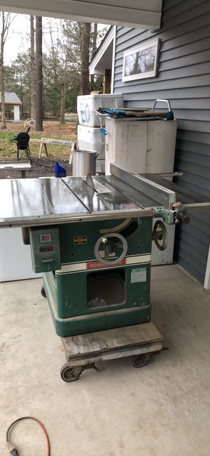Powermatic table saw model 72 for Sale in Virginia Beach, VA
