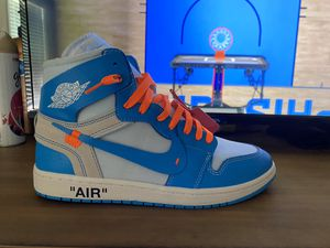 Off-White UNC Air Jordan 1 for Sale in Hope Mills, NC