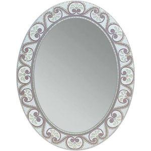 Earthtone Mosaic Accent Bathroom/Vanity Wall Mirror for Sale in Houston, TX
