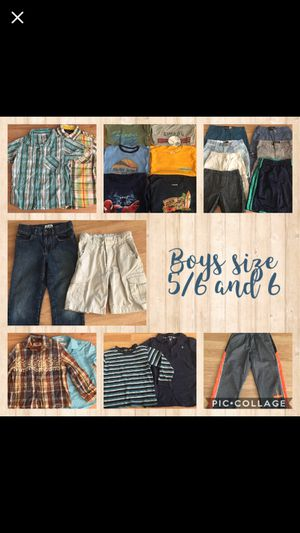 Boys clothes size 5/6 and 6 for Sale in Tarpon Springs, FL