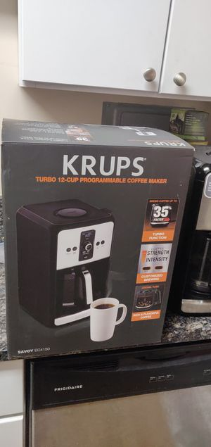 KRUPS Coffee maker turbo Model EC415050 for Sale in Chicago, IL