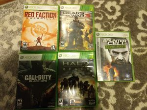 Xbox 360 games $4 for Sale in Falls Church, VA