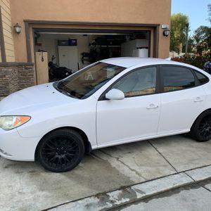 2009 Hyundai Elantra, 4-Door, White for Sale in West Covina, CA