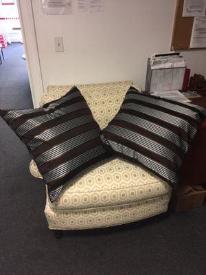 "Brown & Silver Pillows 24"" for Sale in Bonita Springs, FL"