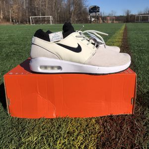 A1349 Nike SB Stefan Janoski Max 2 PRM Pale Ivory BQ3377-100 Mens Size 8.5 NEW for Sale in Philadelphia, PA