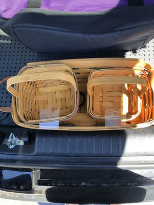 Longaberger Baskets for Sale in Chula Vista, CA