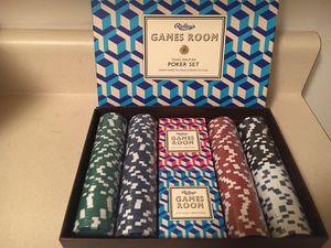 Game room poker set brand new for Sale in Atlanta, GA