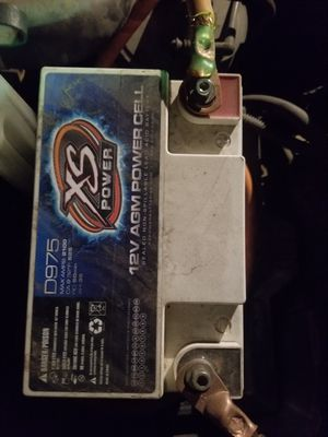XS Power car audio battery for Sale in Tulsa, OK