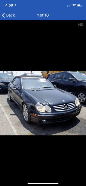 Mercedes W209 CLK-Class clk320 clk500 clk350 parts for sale- parting out complete car for Sale in Rocklin, CA