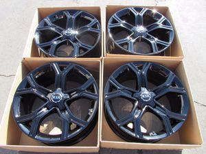 """19"""" oem Kia Stinger factory wheels 19 inch gloss black rims stinger Kia for Sale in Irvine, CA"""