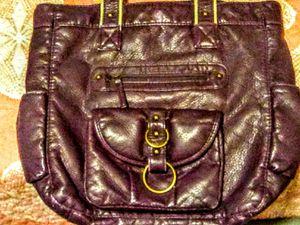Purple leather ladies bag. for Sale in Acworth, GA