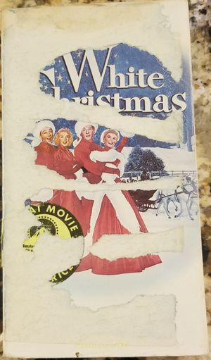 White Christmas a Irving Berlin classic vhs for Sale in Three Rivers, MI