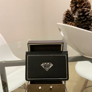 (1) 14k White Gold Diamond Earring with (2) 14k White Gold Screw Backs for Sale in Gaithersburg, MD
