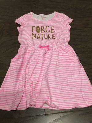 Cat and Jack Force Of Nature Dress Tunic Size M (7/8) for Sale in Winter Garden, FL
