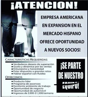 Oportunidad laboral en el área de DMV for Sale in Bethesda, MD