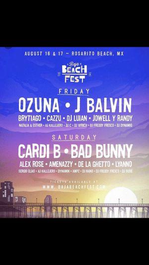 Baja beach fest for Sale in Santa Ana, CA